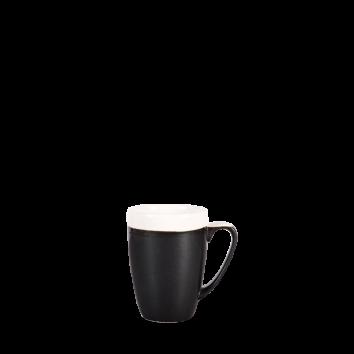 Churchill Monochrome onyx black beker 34 cl