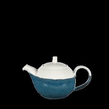 Churchill Monochrome sapphire blue thee/koffiepot  42,6 cl