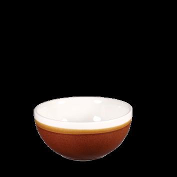 Churchill Monochrome cinnamon brown bowl 47 cl