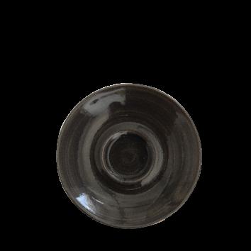 Churchill Monochrome iron black capp. schotel 15,6 cm