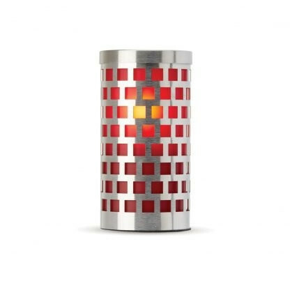Lumea Eden Mosaic Frosted Red