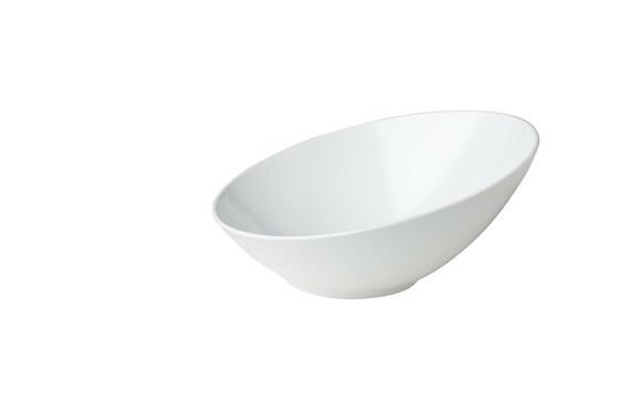 Stylepoint melamine schuine schaal 30 x 29,1 x 13,7 cm