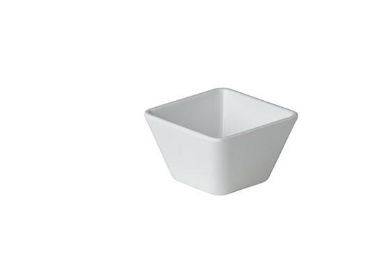 Stylepoint melamine vierkant bakje 8,9 x 8,9 x 5,5 cm