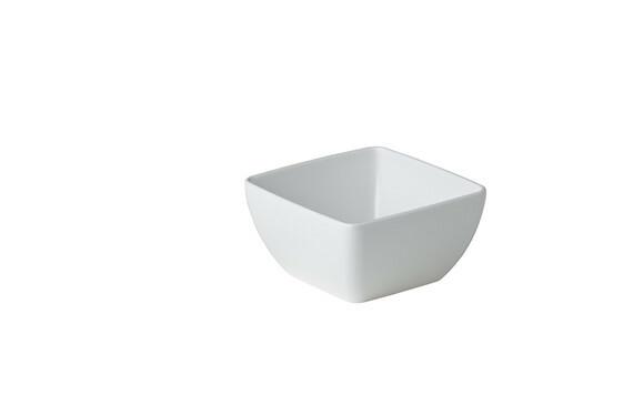 Stylepoint melamine vierkant bakje 12,9 x 12,9 x 6,5 cm