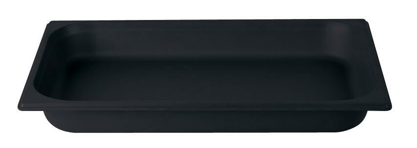 Stylepoint Bamboo Fibre gastronormbak zwart 1/1 GN 6,5 cm diep