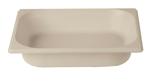 Stylepoint Bamboo Fibre gastronormbak creme 1/2 GN 6,5 cm diep