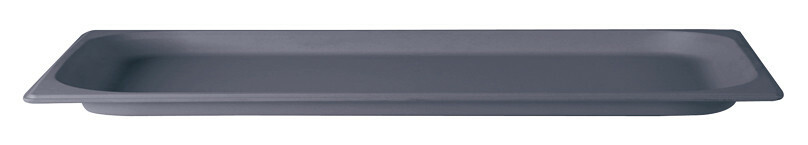 Stylepoint Bamboo Fibre gastronormbak grijs 2/4 GN 2 cm diep