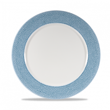 Churchill Isla Ocean Blue presentatie bord plat 30,5 cm