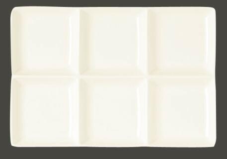 RAK Minimax schaal rechthoek 6 vaks 28 x 20 cm