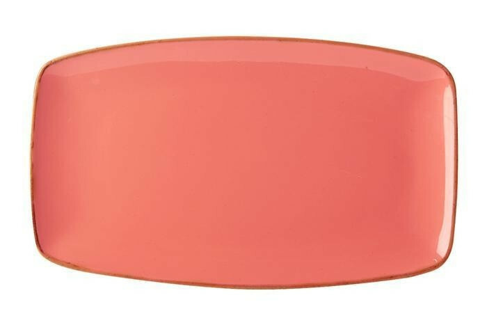 Porland Seasons Orange oblong bord 31 x 18 cm