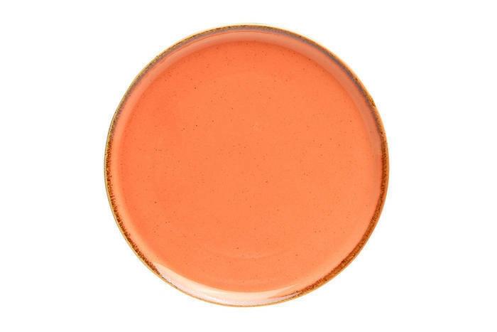 Porland Seasons Orange extra plat bord 28 cm