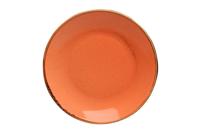 Porland Seasons Orange coupe bord 18 cm