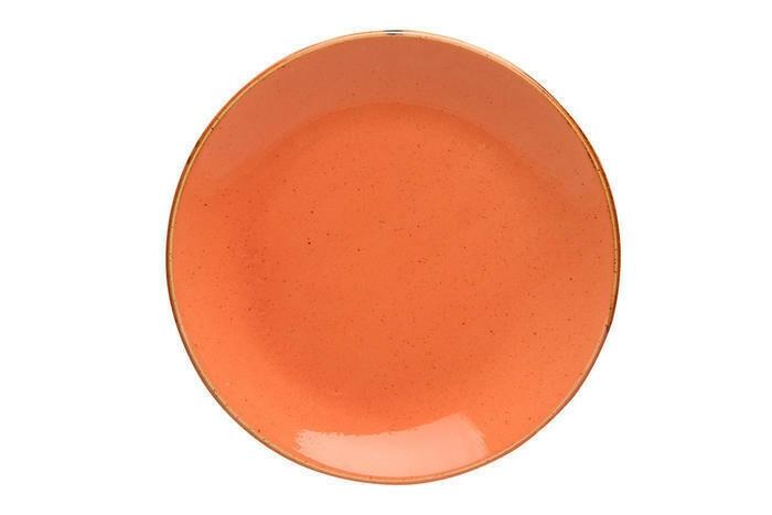 Porland Seasons Orange coupe bord 24 cm