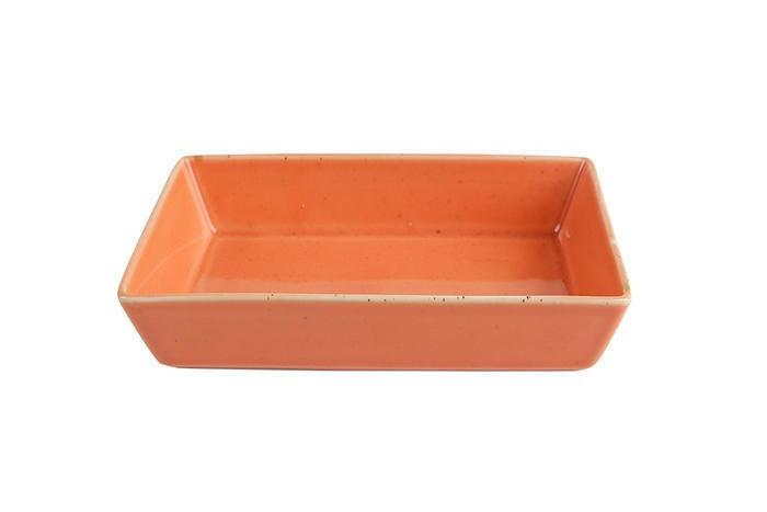 Porland Seasons Orange mezze schaaltje rechthoek 13 x 10 cm