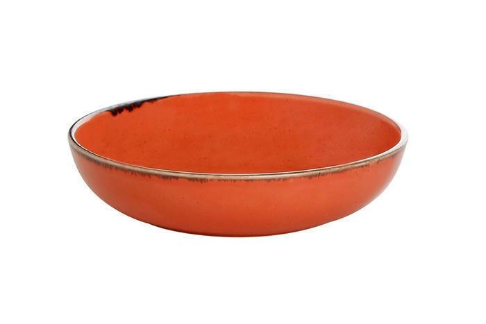 Porland Seasons Orange bowl laag 17 cm 41,5 cl