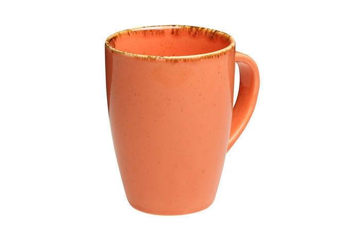 Porland Seasons Orange beker met oor 36 cl
