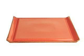 Porland Seasons Orange steak bord RH 33 x 26 cm