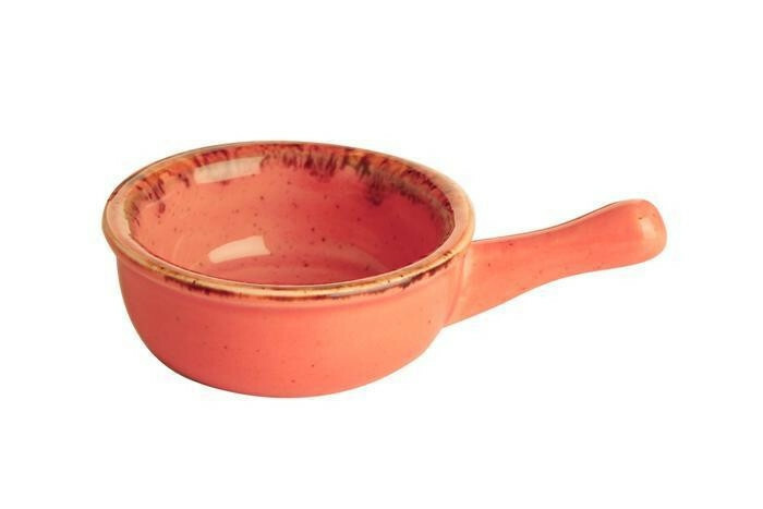 Porland Seasons Orange bowl met steel 6 cm