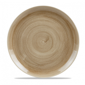 Stonecast Patina Antique Taupe coupe bord 32,4 cm
