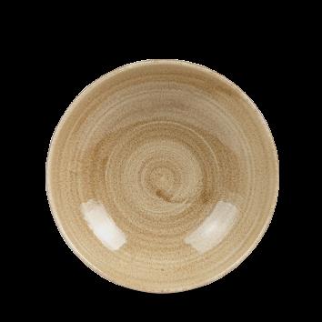 Stonecast Patina Antique Taupe coupe bowl 18,2 cm