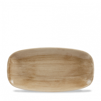 Stonecast Patina Antique Taupe chef`s oblong plate 29,8 x 15,3 cm