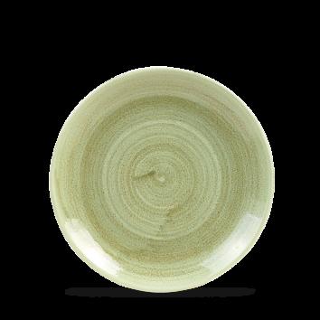 Stonecast Patina Burnished Green coupe bord 16,5 cm