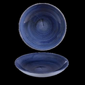 Stonecast Patina Cobalt Blue coupe bowl 24,8 cm