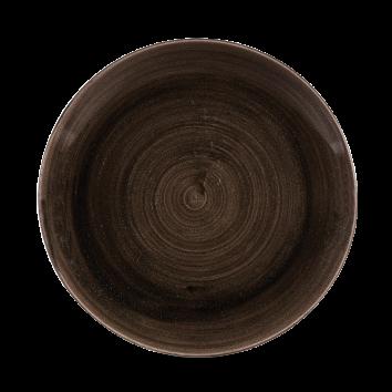 Stonecast Patina Iron Black coupe bord 26 cm