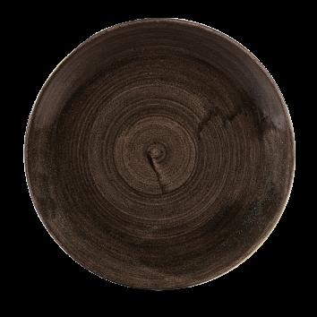 Stonecast Patina Iron Black coupe bord 28,8 cm