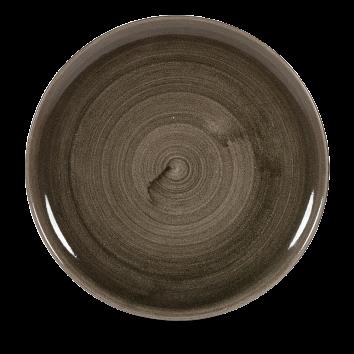 Stonecast Patina Iron Black coupe bord 32,4 cm