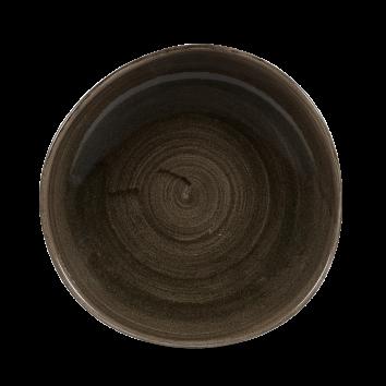 Stonecast Patina Iron Black organic bord plat 26,4 cm