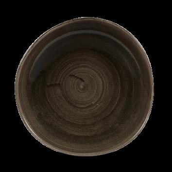 Stonecast Patina Iron Black organic bord plat 28,6 cm