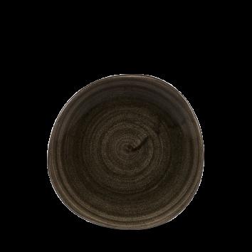 Stonecast Patina Iron Black organic bord plat 18,6 cm