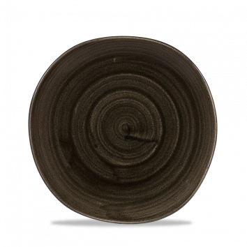 Stonecast Patina Iron Black organic bord plat 21 cm