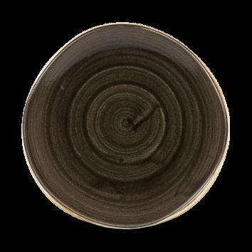Stonecast Patina Iron Black organic diep coupe bord 25,3 cm