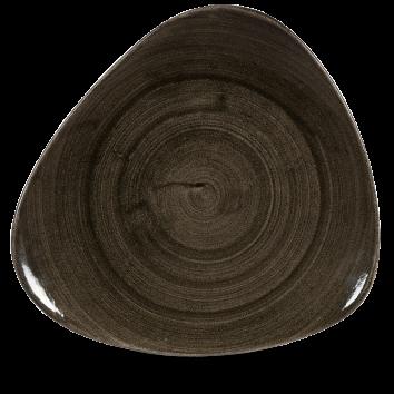 Stonecast Patina Iron Black triangle bord 31,1 cm