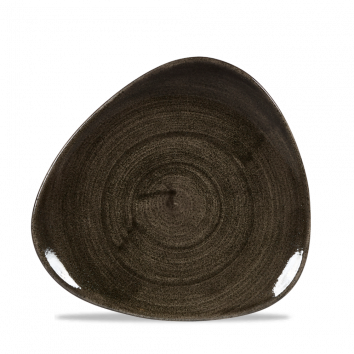 Stonecast Patina Iron Black triangle bord 19,2 cm