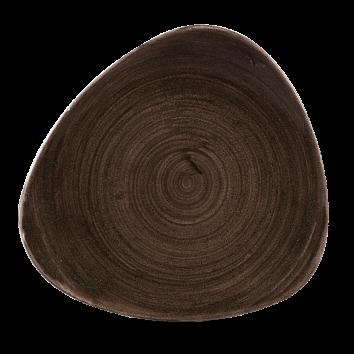 Stonecast Patina Iron Black triangle bord 22,9 cm