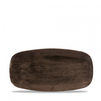 Stonecast Patina Iron Black chef`s oblong plate 29,8 x 15,3 cm