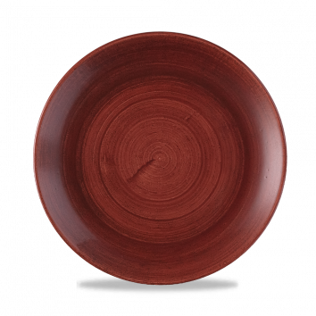 Stonecast Patina Rust Red coupe bord 21,7 cm