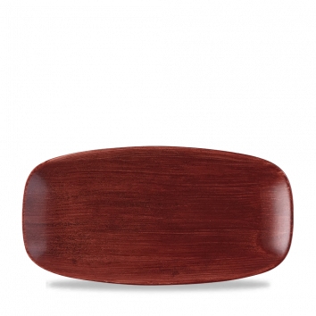 Stonecast Patina Rust Red chef`s oblong plate 29,8 x 15,3 cm