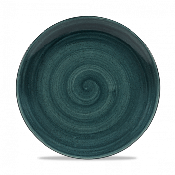 Stonecast Patina Rustic Teal coupe bord 26 cm