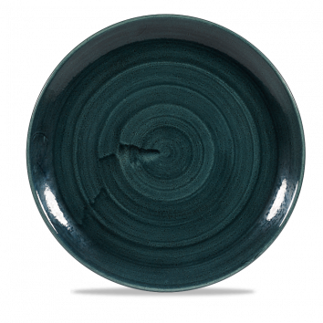 Stonecast Patina Rustic Teal coupe bord 28,8 cm