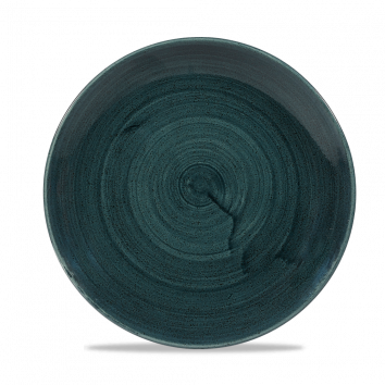 Stonecast Patina Rustic Teal coupe bord 21,7cm