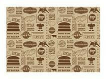 vetvrij papier steak house bruin 35 x 25 cm DOOS 1000