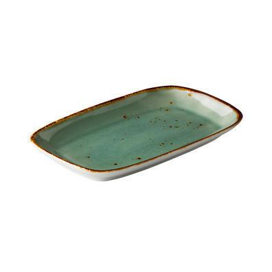 Q Authentic Aqua bord RH 24,7 x 15,4 cm