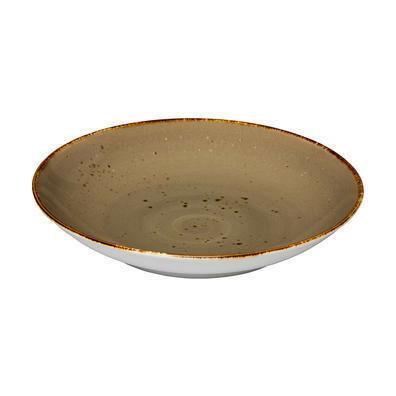 Q Authentic Sand pasta coupe bord 26,2 cm