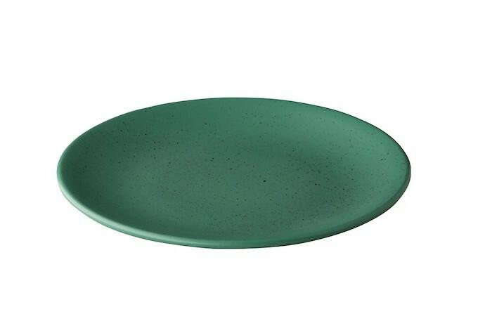 Q Authentic Tinto bord rond mat groen 30 cm