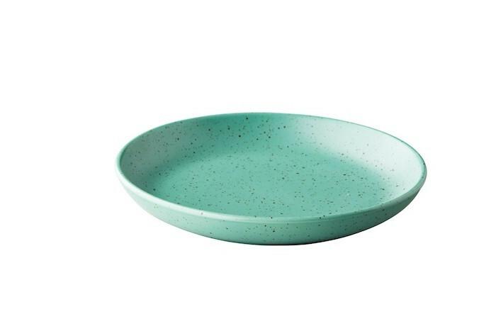 Q Authentic Tinto bord rond diep mat groen 26,5 cm