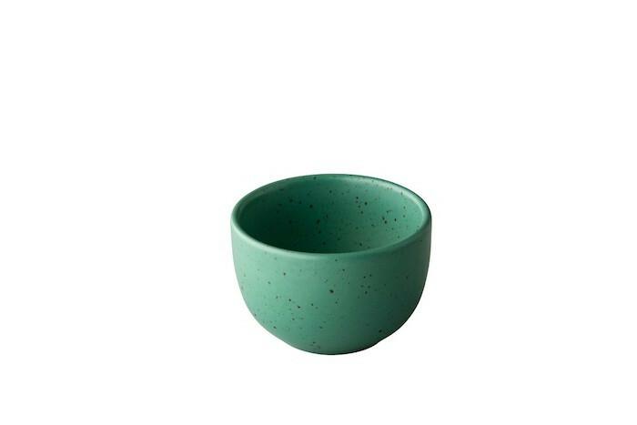 Q Authentic Tinto kom mat groen 9 x 6(h) cm